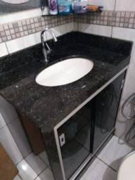 Vendo Pia de Banheiro de Mármore Completa