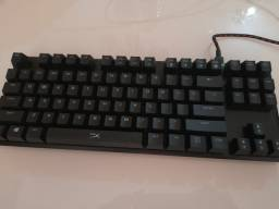 Teclado mecânico  Hyperx alloy FPS pro, siwtch Chrrry Red