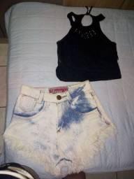 Short jeans e bory