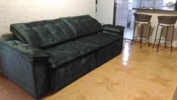 Sofá retrátil, reclinável e modulado