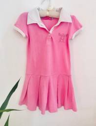 Vestido infantil marca Cara de Anjo veste 4 anos