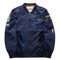 Jaqueta Militar Masculina Piloto Aviador De Voo Fly Air Force leve EN207