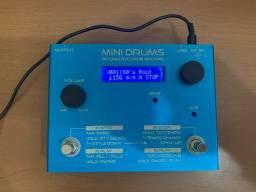 Pedal de Ritmos(Acompanhamento) - Mini Drums + Fonte