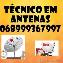 Instalação de Antenas Técnicos////