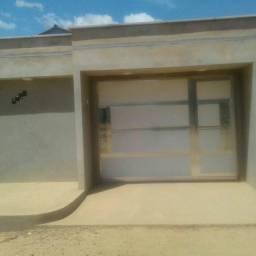 Troco casa num terreno  murado próximo asfalto na morada da palmares  mais volta