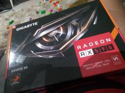 Placa de vídeo RX 590 8GB