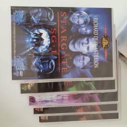 DVDs Stargate SG-1, Atlantis e Smallville