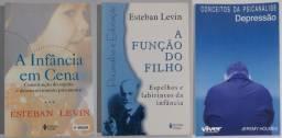 Livros Pedagogia/Psicopedagogia/Psicologia/Psicanálise