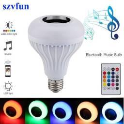 Lâmpada de Led com Som Bluetooth