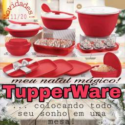 Sua mesa natalina merece ter produtos Tupperware!