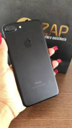 iPhone 7 Plus 128GB preto fosco