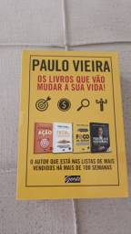 Box 4 Livros Paulo Vieira + Luminaria Gratis Retirada no Local Nao Troco