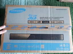 Blu Ray 3D Samsung novo lacrado sem uso mais brindes da foto