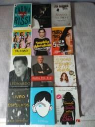 Vendo livros semi novos