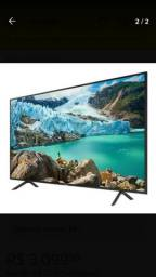 Tv smart sansung 55 polegadas ultra slim 4K bluetooth.