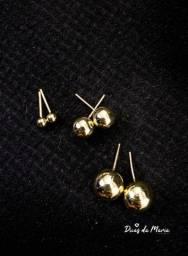 Brincos em prata ou ouro