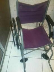 Cadeira roda cartão divido