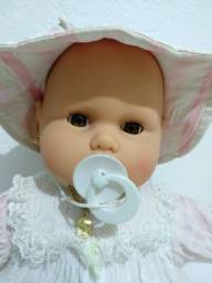 Antigo bebê da Estrela olhos castanhos