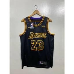 Camisa NBA Lakers - Bordada
