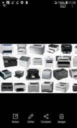 Serviços reparos em todos tipo de impressoras Lazer ou jato de tintas
