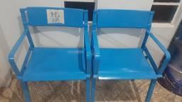 Cadeiras Olímpico reformadas