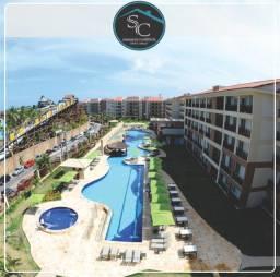 Beach Park Wellness Resort 58m² mobiliado pertinho da praia!