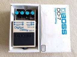 Pedal boss dd7 delay p guitarra ac troca