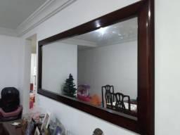 Espelho madeira maçica mogno