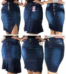 Kit 10 Saias Jeans evangélica na promoção para revendedores e lojistas