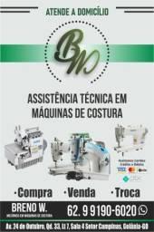 Título do anúncio: Mecânico em máquinas de costura industrial e doméstica