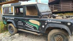 Land Rover defender 110, ano 2000