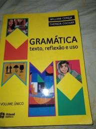 Livro Gramática, texto, reflexão e uso