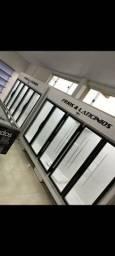 Geladeira 5 portas de vidro frios e lacticínios- felário