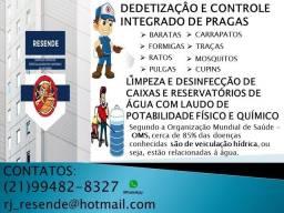 Título do anúncio: Dedetizacão e Limpeza de Caixas d'água, Cisternas e Reservatórios