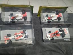 Quatro Miniaturas 1:43 Fórmula 1