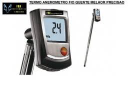Locação termo anemometro fio quente