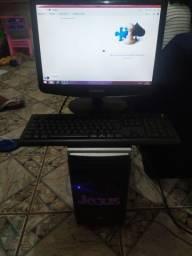 PC completo 3 GB de RAM HD um tera