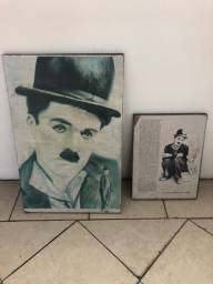 Título do anúncio: Quadros Charles Chaplin