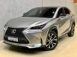 Lexus Nx  200T 2.0 F-Sport 4X4 16V Turbo Gasolina 4P Automático - 2016/2017