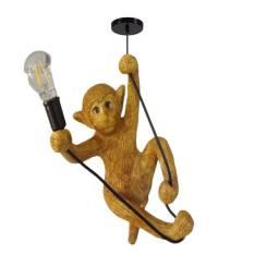 Luminaria Pendente Lustre Macaco