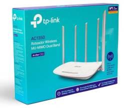 Roteador 5 Antenas Tp-Link Archer C60 V2.1 AC1350 Dual Band Novo - Loja Natan Abreu
