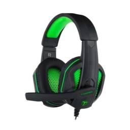 Headset Gamer Cook T-Dagger Preto e Verde PC/PS4,5/XBOX