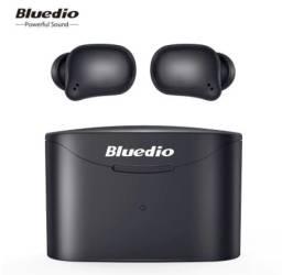Bluedio - t-elf 2, fone de ouvido bluetooth tws, impermeável com caixa de carregamento