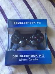 Controle de jogo sem fio para PC e PS 3 e 4