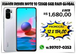 Xiaomi Redmi Note 10 128gb 6gb Ram Global (caixa lacrada)