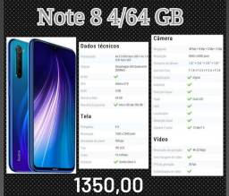 Note 8 4/64 GB