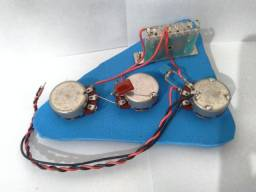 Kit de Elétrica para Guitarra Stratocaster SSS ou HSS