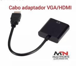Cabo adaptador VGA HDMI