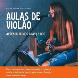 Aulas de violão só por 80 reais