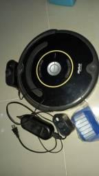 Robô Aspirador iRobot Roomba trocar bateria 33cm diâmetro